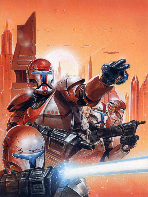 clone commando squad image - photo #19
