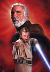 Dooku and Obi-Wan