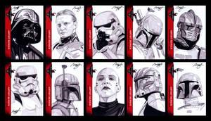 501st sketch cards