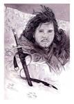 Jon Snow and Longclaw