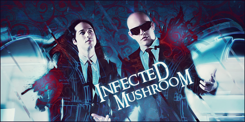 Infected Mushroom signature by Angel-Jiyoung