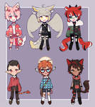 AUCTION ADOPTABLES   OPEN by sui-A