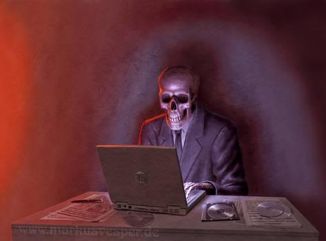 uploading death...