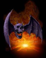 Overkill bat by Acrylicdreams