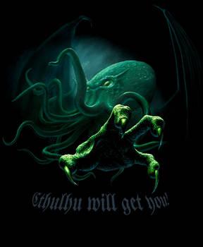 Cthulhu T-Shirt version