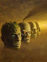 Faces by Acrylicdreams