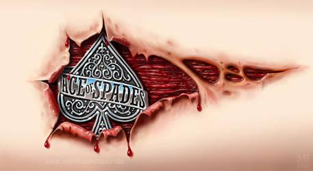 Motorhead fan tattoo - Ace of Spades
