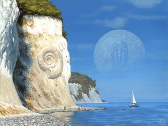 The Ammonite's Dream by Acrylicdreams