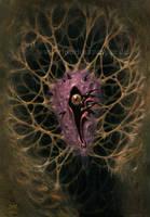 birth of a nightmare by Acrylicdreams