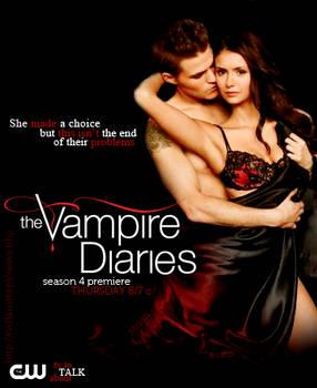The Vampire Diaries Season 4 Promo Poster Stelena