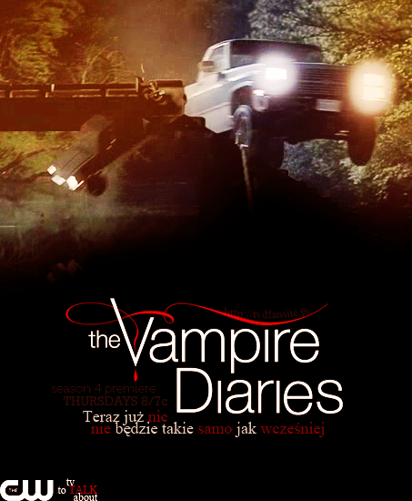 The Vampire Diaries Season 4 Promo Poster 2 By DevilMisao