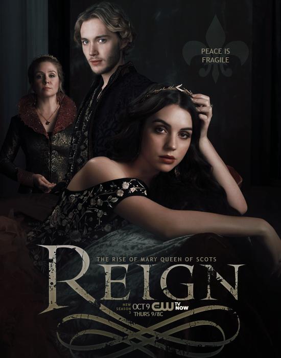 Reign saison 3 en français