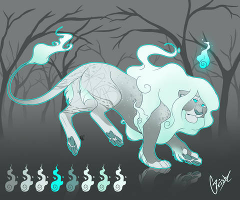 Geist Spoopy Lion Adopt (CLOSED)