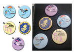 My Little Pony FiM Buttons