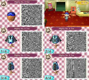 Mighty No. 9 Costume (ACNL)