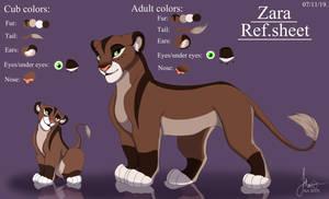 Commission ref.sheet Zara ( rottieluv77):