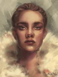 Portrait by Sylphys-tia