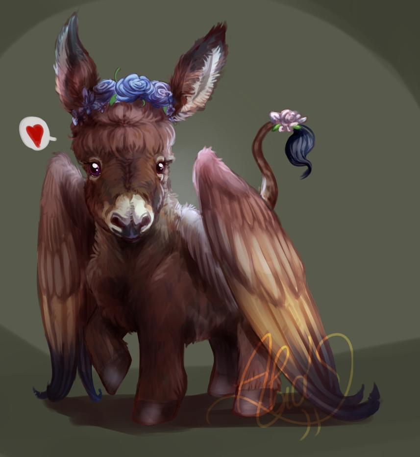 [Pegasus-donkey] Spring fever by Alia64