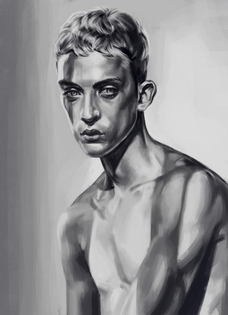 Portrait 2 by VshintoV