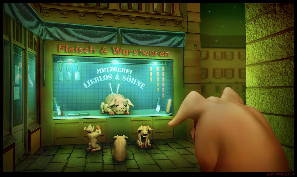 Pigs Prayer by FrancosFreax