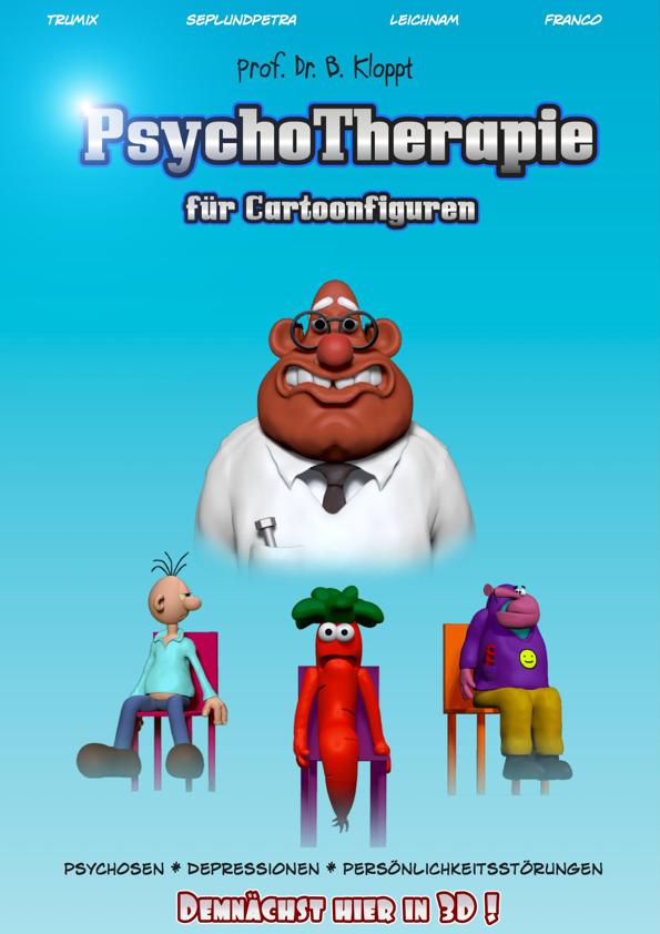 Franco's Freax - Psychotherapie Cartoonfiguren by FrancosFreax