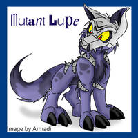 Neopets- Mutant Lupe Yeah by armi