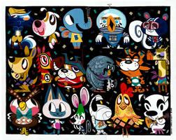 Animal Crossing Painting