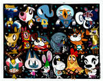 Animal Crossing Painting by Pocketowl