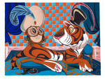 Aladdin Tiger and Owl
