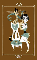 Flapper Poster by Pocketowl