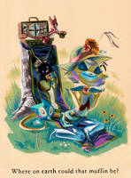Yellow Fevah and Pinwheel by Pocketowl