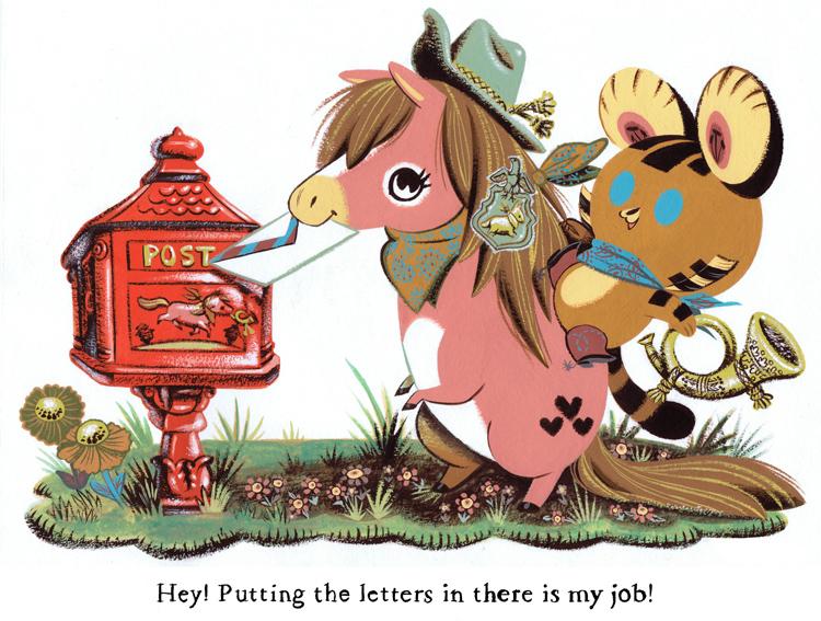 Tigerbuttah and Pony Express by Pocketowl