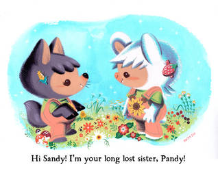 Sandy and Pandy by Pocketowl