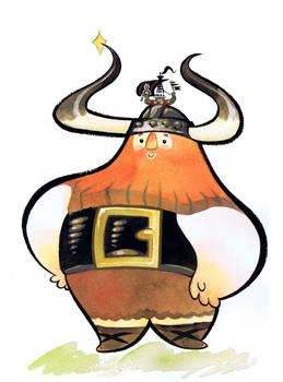 Peanut the Little Viking