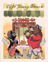 Honey Bear Cafe by Pocketowl