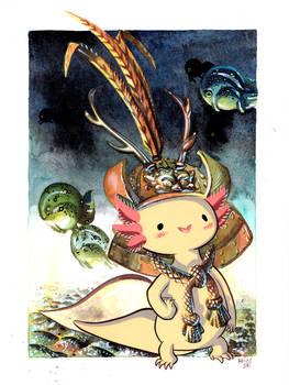 Samurai Axolotl