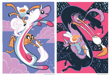 Adventure Time Posters On Sale Now by Pocketowl