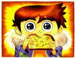 Scott Precious and the Infinite Garlic Bread