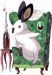 Classy Rabbit by Pocketowl