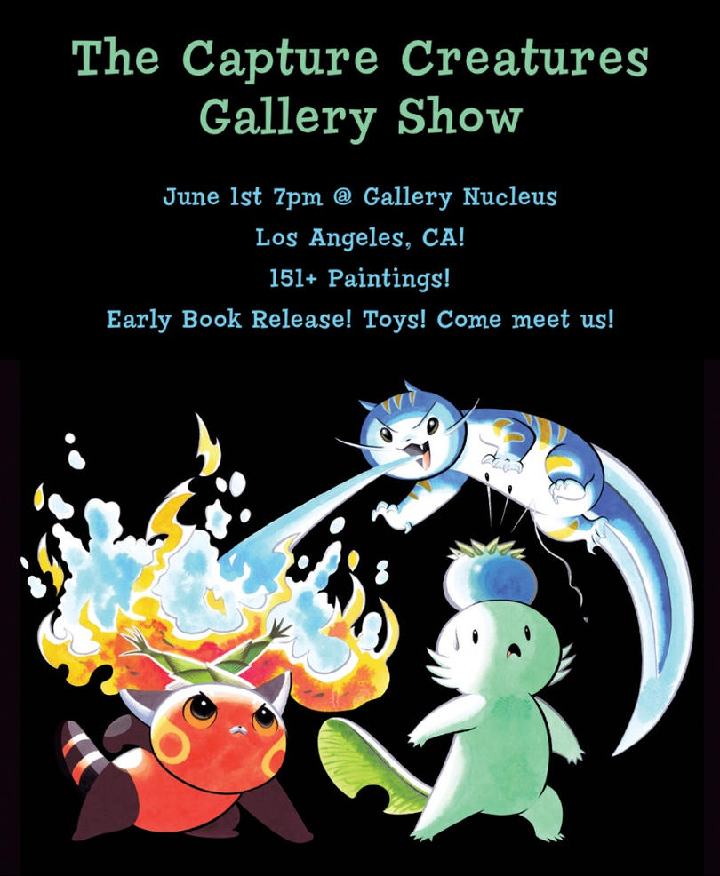 Capture Creature Gallery Show by Pocketowl