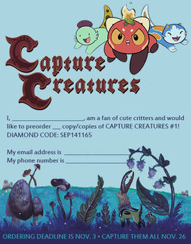 Capture Creatures is now a monthly comic book!