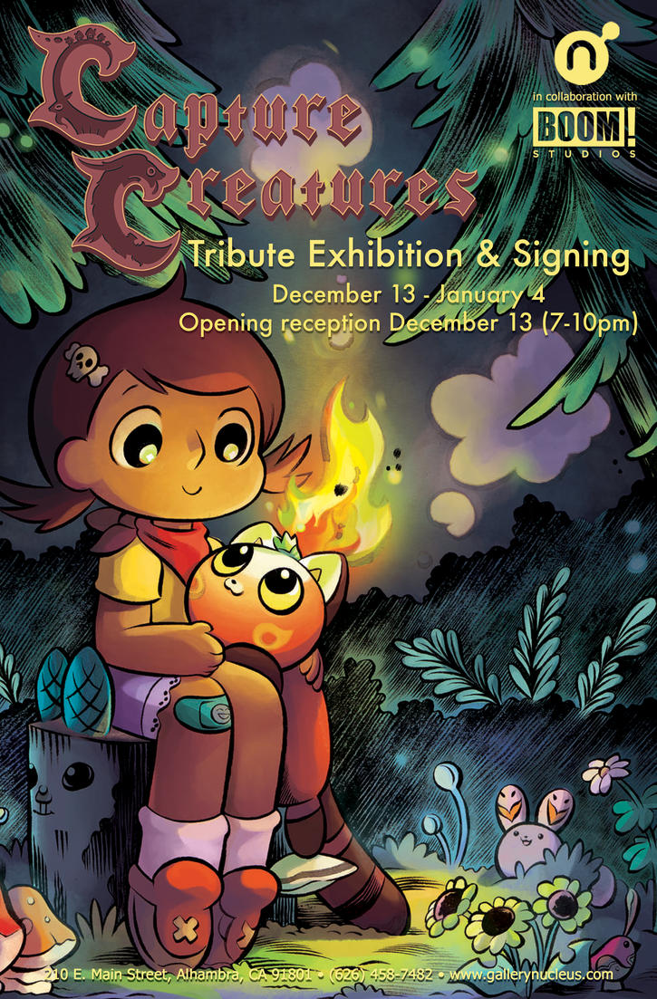 Capture Creatures Gallery Show #2! by Pocketowl