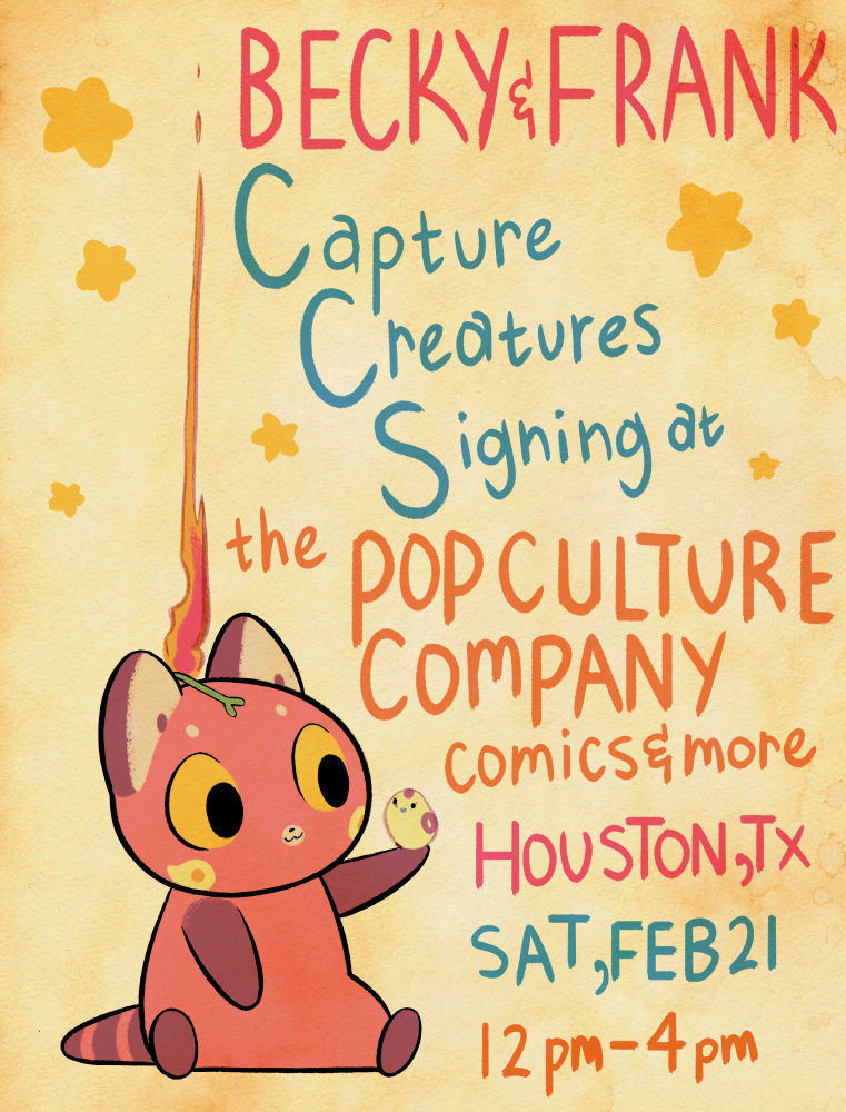Signing this Saturday (Feb 21) in Houston, Texas!!