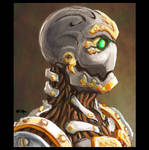 Portrait of a Warforged
