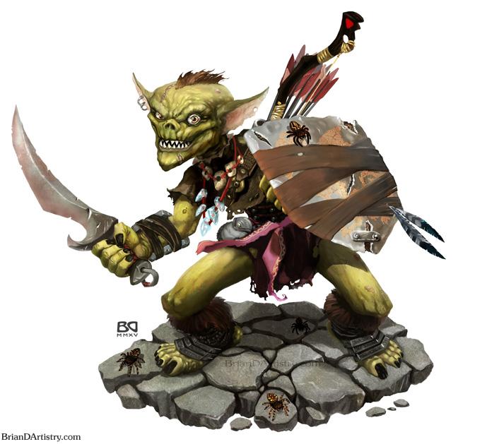 Goblin Warrior by geministranger