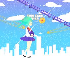 Miku- Zigg Zagg by MatchaPan