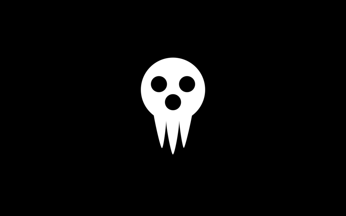 Great Wallpaper Black And White Minimalist - soul_eater___shinigami_sama_minimalist_wallpaper_by_greduan-d84xc53  Graphic_77688.png
