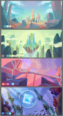 Game background concepts