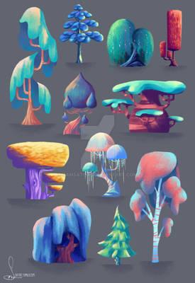 Tree studies 2