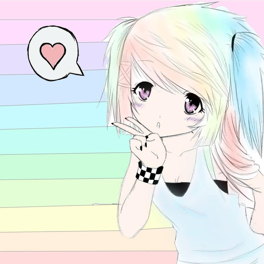 Rainbow Dash as a Human in Real Life if Rainbow Dash Was Human by